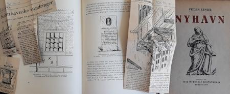 Bogsider fra bogen Nyhavn