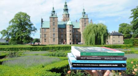5 bøger foran Rosenborg Slot