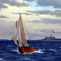 Skip på vandet