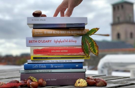 10 supergode bøger til din efterårsferie